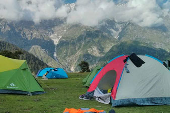 Camping Sight Triund