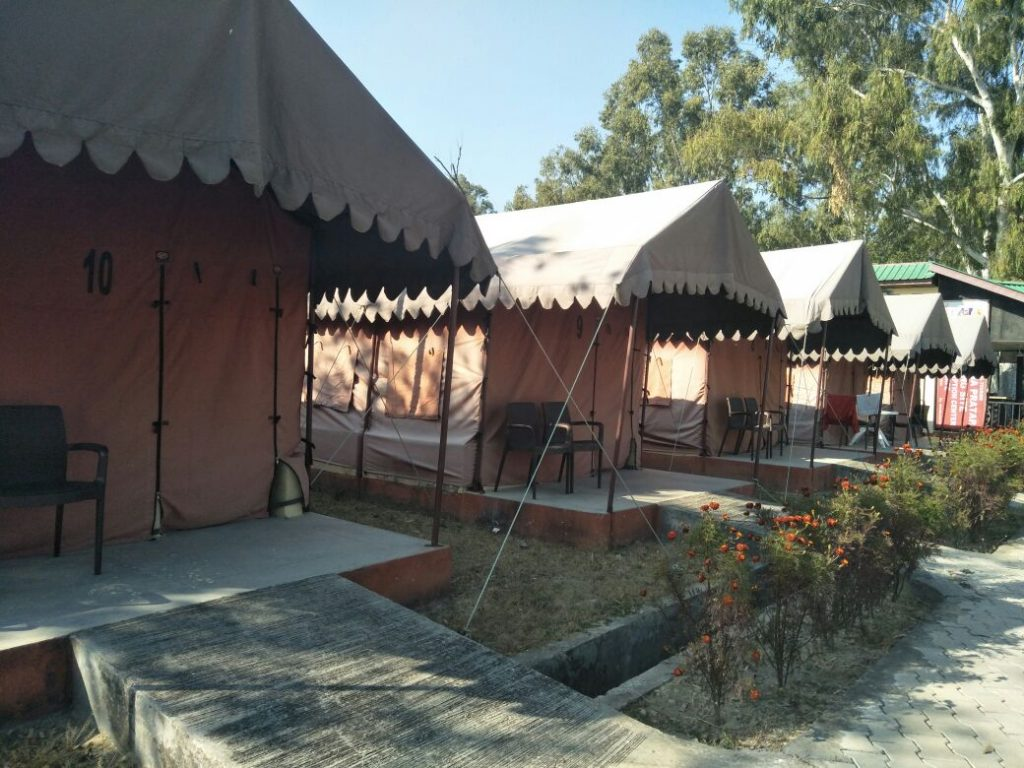 Tent Outside View