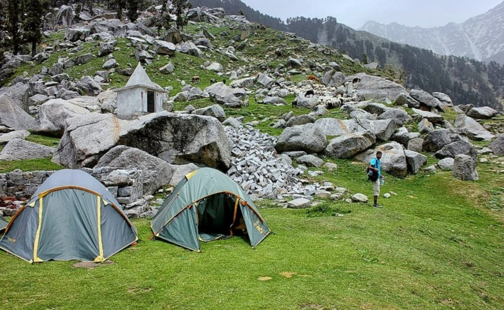 Tent Covered Triund