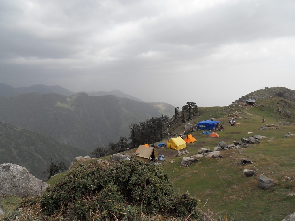 Cloudy View at Triund