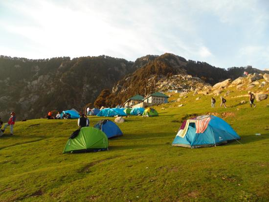 Morning at Triund