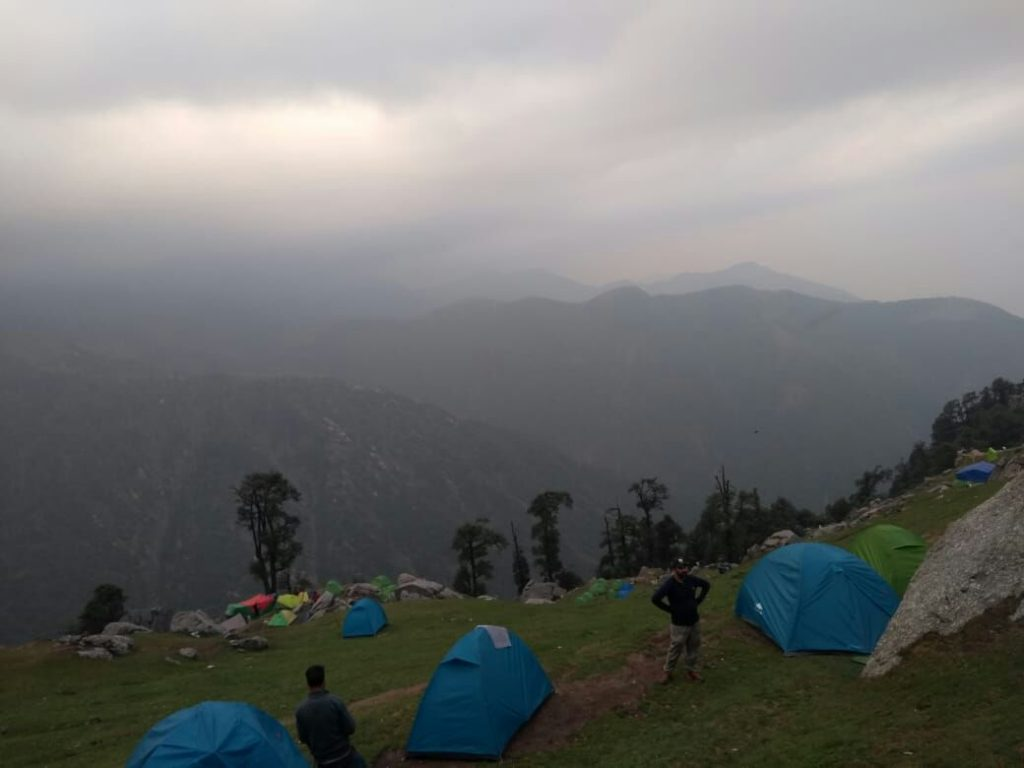 Evening View at Triund